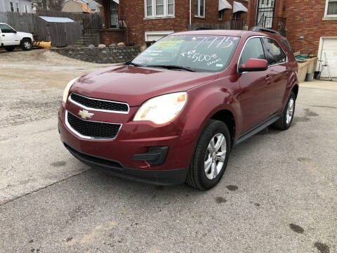 2011 Chevrolet Equinox for sale at Kneezle Auto Sales in Saint Louis MO