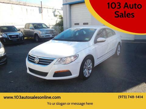2011 Volkswagen CC for sale at 103 Auto Sales in Bloomfield NJ