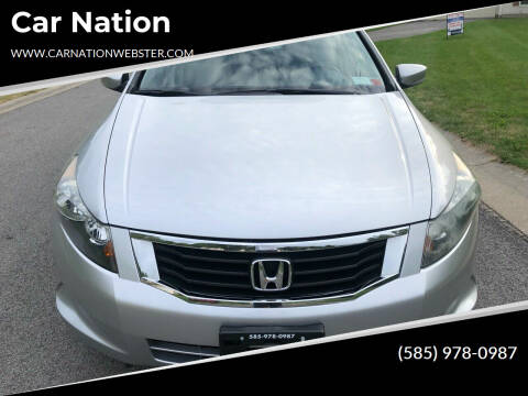 2008 Honda Accord for sale at Car Nation in Webster NY