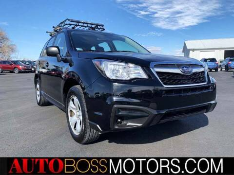 2017 Subaru Forester for sale at Auto Boss in Woodscross UT