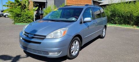2005 Toyota Sienna for sale at Persian Motors in Cornelius OR