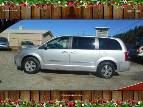 2008 Dodge Grand Caravan for sale at W & D Auto Sales in Fayetteville NC