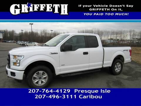 2015 Ford F-150 for sale at Griffeth Mitsubishi - Pre-owned in Caribou ME