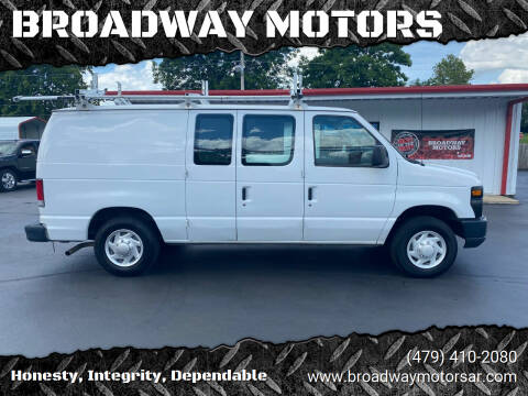 2009 Ford E-Series Cargo for sale at BROADWAY MOTORS in Van Buren AR