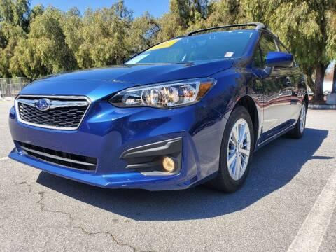 2018 Subaru Impreza for sale at ALL CREDIT AUTO SALES in San Jose CA