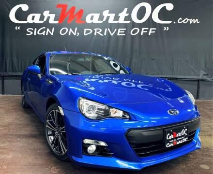 2013 Subaru BRZ for sale at CarMart OC in Costa Mesa, Orange County CA
