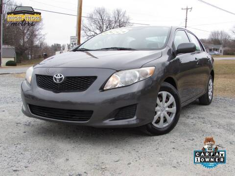 2009 Toyota Corolla for sale at High-Thom Motors in Thomasville NC