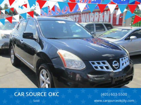 2011 Nissan Rogue for sale at CAR SOURCE OKC - CAR ONE in Oklahoma City OK