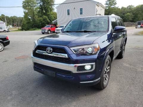 2015 Toyota 4Runner for sale at Top Quality Auto Sales in Westport MA