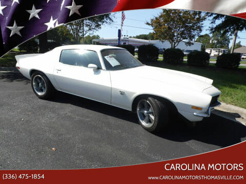 1971 Chevrolet Camaro for sale at CAROLINA MOTORS in Thomasville NC