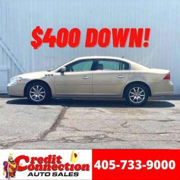 2008 Buick Lucerne for sale at Credit Connection Auto Sales in Midwest City OK