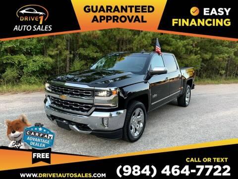 2017 Chevrolet Silverado 1500 for sale at Drive 1 Auto Sales in Wake Forest NC