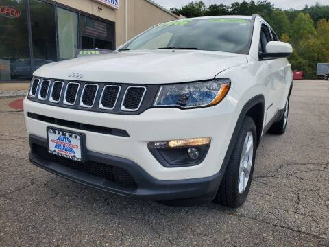 2018 Jeep Compass for sale at Auto Wholesalers Of Hooksett in Hooksett NH