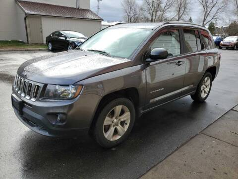 2016 Jeep Compass for sale at MIDWEST CAR SEARCH in Fridley MN