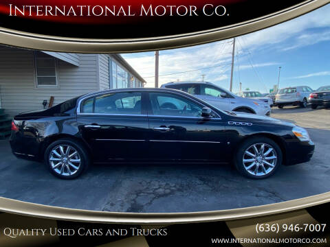2010 Buick Lucerne for sale at International Motor Co. in St. Charles MO