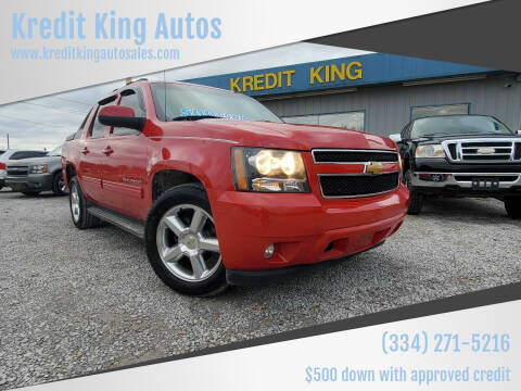 2011 Chevrolet Avalanche for sale at Kredit King Autos in Montgomery AL