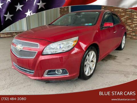 2013 Chevrolet Malibu for sale at Blue Star Cars in Jamesburg NJ