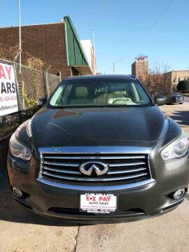 2013 Infiniti JX35 for sale at E-Z Pay Used Cars in McAlester OK