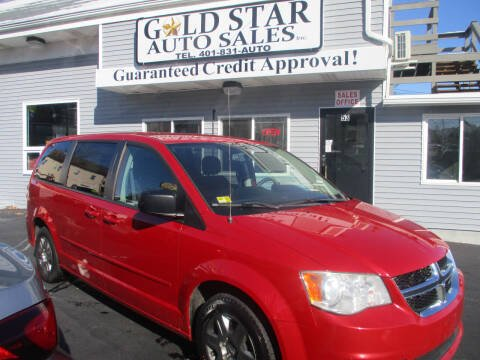 2012 Dodge Grand Caravan for sale at Gold Star Auto Sales in Johnston RI