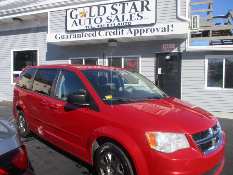 2012 Dodge Grand Caravan for sale at Gold Star Auto Sales in Johnston RI