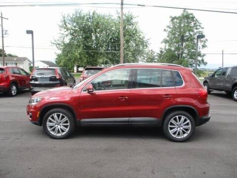 2015 Volkswagen Tiguan for sale at FINAL DRIVE AUTO SALES INC in Shippensburg PA