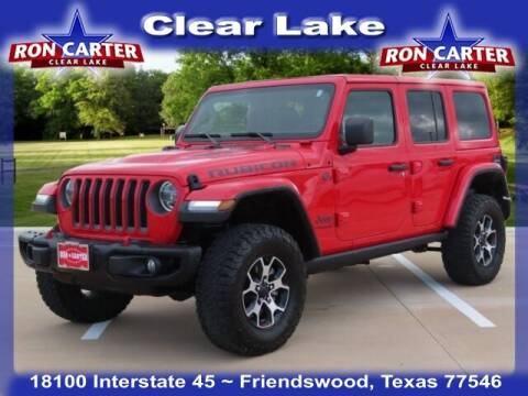 2019 Jeep Wrangler Unlimited for sale at Ron Carter  Clear Lake Used Cars in Houston TX