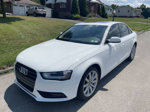 2013 Audi A4 for sale at Trocci's Auto Sales in West Pittsburg PA