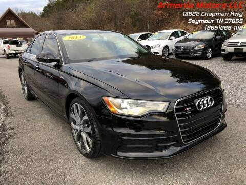 2013 Audi A6 for sale at Armenia Motors in Seymour TN