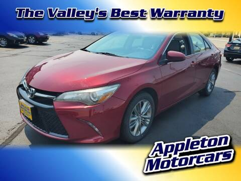2015 Toyota Camry for sale at Appleton Motorcars Sales & Service in Appleton WI