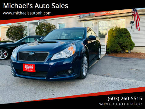 2010 Subaru Legacy for sale at Michael's Auto Sales in Derry NH