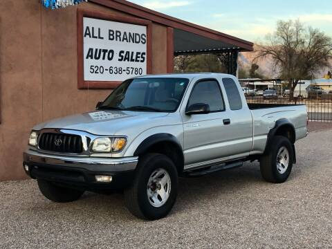 2003 Toyota Tacoma for sale at All Brands Auto Sales in Tucson AZ