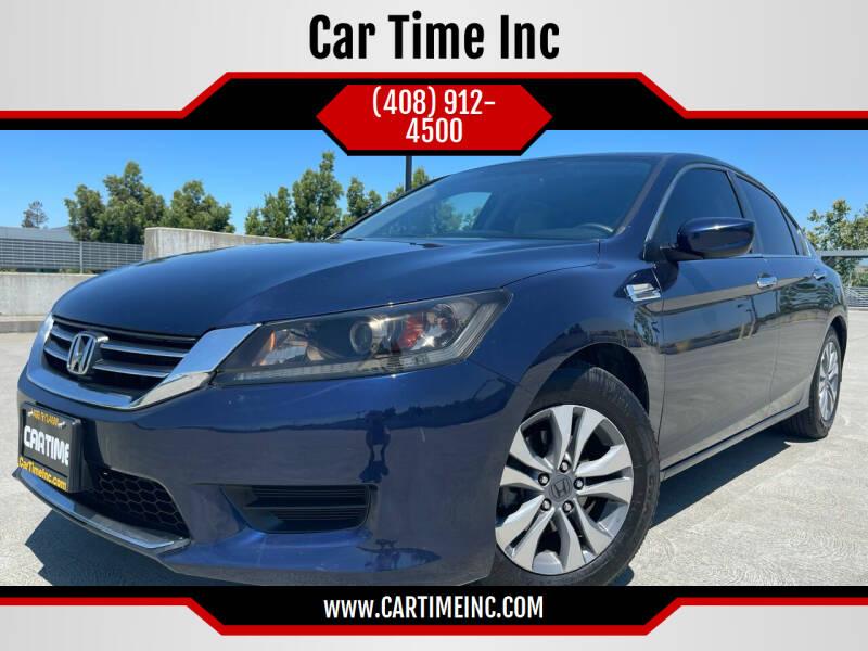 2014 Honda Accord for sale at Car Time Inc in San Jose CA