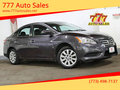 2014 Nissan Sentra for sale at 777 Auto Sales in Bedford Park IL