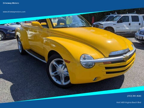 2004 Chevrolet SSR for sale at Driveway Motors in Virginia Beach VA