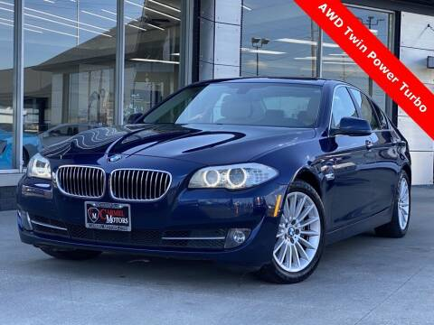 2013 BMW 5 Series for sale at Carmel Motors in Indianapolis IN