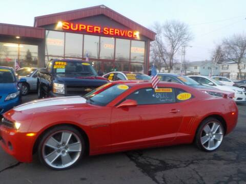 2013 Chevrolet Camaro for sale at Super Service Used Cars in Milwaukee WI