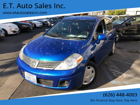 2008 Nissan Versa for sale at E.T. Auto Sales Inc. in El Monte CA
