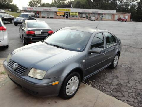2003 Volkswagen Jetta for sale at HAPPY TRAILS AUTO SALES LLC in Taylors SC