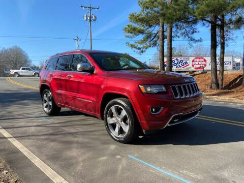 2014 Jeep Grand Cherokee for sale at THE AUTO FINDERS in Durham NC