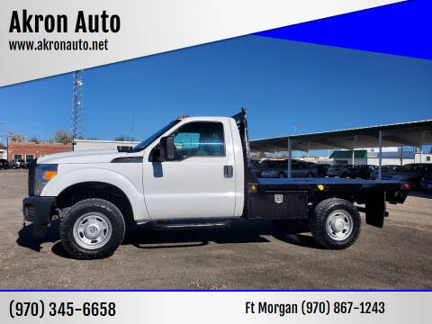 2016 Ford F-350 Super Duty for sale at Akron Auto in Akron CO