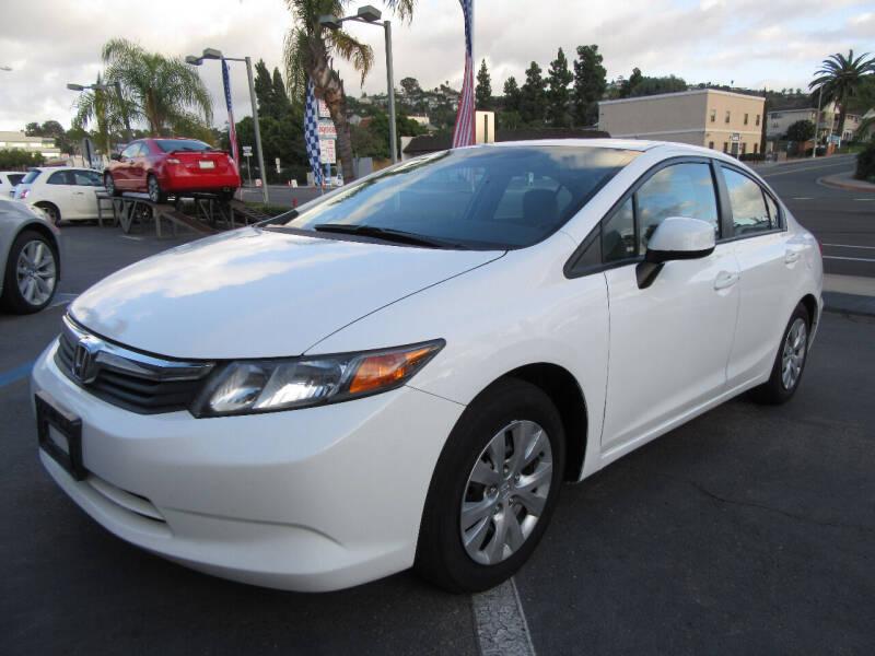2012 Honda Civic for sale at Eagle Auto in La Mesa CA