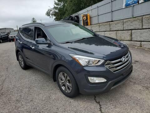 2015 Hyundai Santa Fe Sport for sale at Fortier's Auto Sales & Svc in Fall River MA