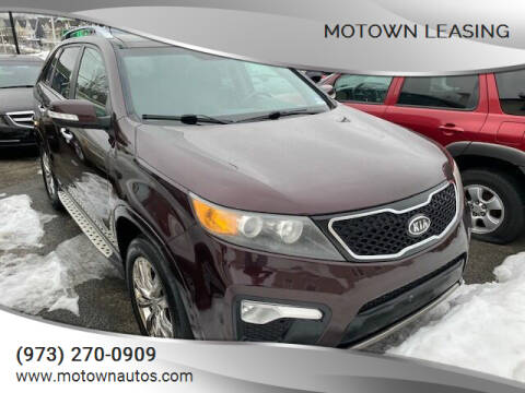 2012 Kia Sorento for sale at Motown Leasing in Morristown NJ