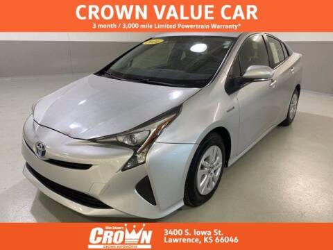 2016 Toyota Prius for sale at Crown Automotive of Lawrence Kansas in Lawrence KS