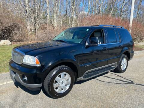 2005 Lincoln Aviator for sale at Padula Auto Sales in Braintree MA