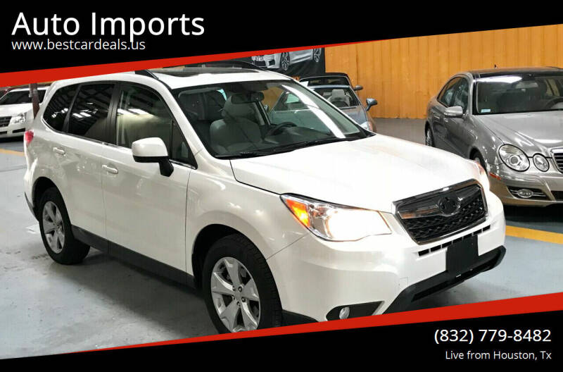 2015 Subaru Forester for sale at Auto Imports in Houston TX