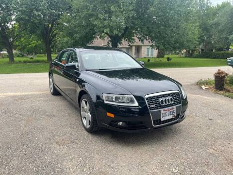 2008 Audi A6 for sale at CARWIN MOTORS in Katy TX