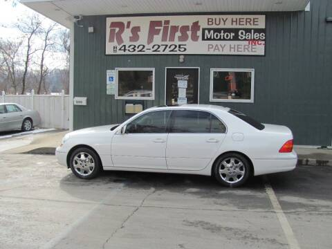2003 Lexus LS 430 for sale at R's First Motor Sales Inc in Cambridge OH