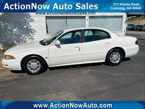 2003 Buick LeSabre for sale at ACTION NOW AUTO SALES in Cumming GA
