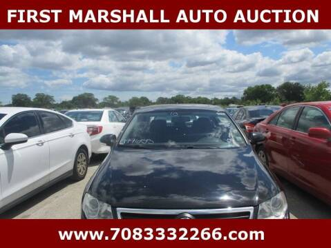 2010 Volkswagen Passat for sale at First Marshall Auto Auction in Harvey IL